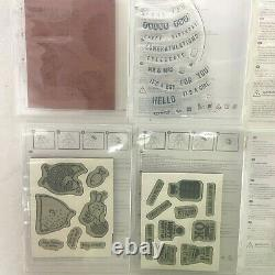 Stampin' Up! Sale-A-Bration Theme Lot of 12 Stamp Sets