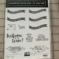 Stampin Up Set Stamping Your Way to the Top