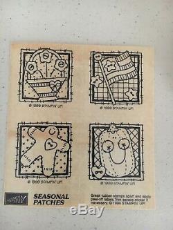 Stampin Up Stamp Set Seasonal Patches