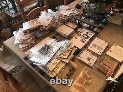 Stampin Up Stamp Sets HUGE COLLECTION! Holiday, Christmas, Halloween, Frogs, Etc
