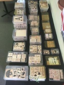 Stampin' Up Stamp Sets (Huge Collection) 1 Lot