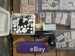 Stampin Up Stamp Sets (Huge Collection) Over 85 sets plus Ink & Accessories