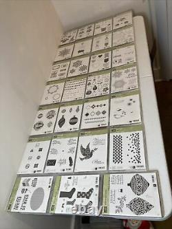 Stampin Up Stamp Sets (Huge Massive Lot Of 27) (Retired)