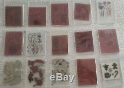 Stampin' Up Stamp Sets Lot Of 69