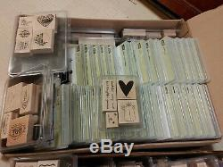 Stampin' Up Stamp Sets More than 80 sets + wood acrylic