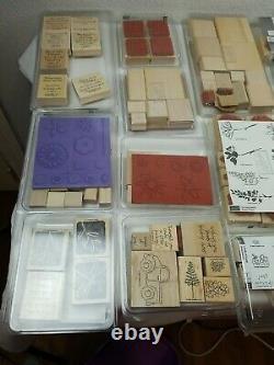 Stampin Up Stamp Sets, Vintage 27 Individual Boxes