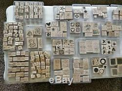 Stampin' Up Stamp Sets in Excellent Used Condition Lot of 31 Stamp Sets