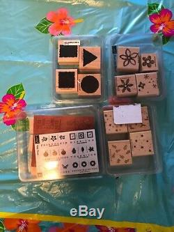 Stampin Up! Stamps Sets Lot Of 15