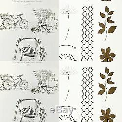 Stampin Up Summer Afternoon Hostess & Summer Silhouettes Clear Mount Stamps Set