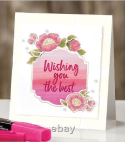 Stampin Up TAGS IN BLOOM, LAYERED with KINDNESS Stamp sets & PUNCH Bundle