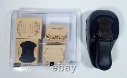 Stampin' Up! Totally Tabs Stamp Set and Whale Tail Matching Punch Set 2007