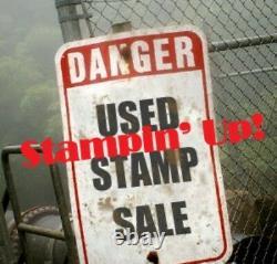 Stampin' Up! UM Stamp SetsLarge AssortmentMany NewithUnused FREE SHIPPING