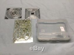 Stampin' Up! Variety Of Rubber Stamp Sets & Storage Cases. (Over 70 Stamps)
