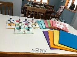 Stampin Up set of Brights Collection ink, pads, and cardstock