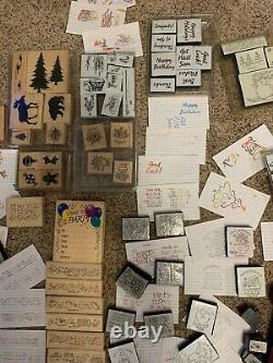 Stampin Up sets and various stamps plus ink never used and punches