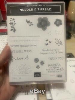 Stampin up HUGE LOT OF STAMPIN UP SETS RETIRED MUST SEE GREAT LOT
