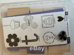 Stampin up Ink Pads, 12 Stamp Sets, Stamp-a-ma-jig, Punch, Blender Pens, Paper