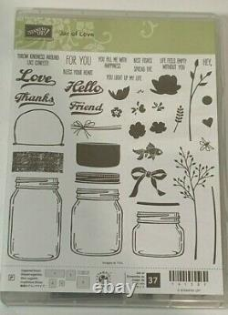 Stampin up Jar of Love Cheer Haunts & Sharing sweet thoughts 4 stamp sets & Dies