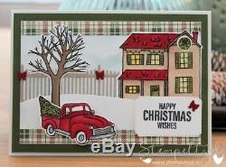 Stampin up LotFarmhouse Christmas set & Framelits DiesDSP & Twine Bundle