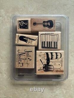 Stampin' up boxed sets 10 Wooden stamp sets