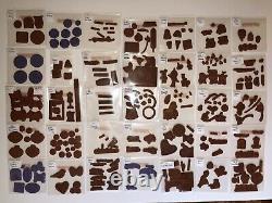 Stampin up stamp set lot 90 Unmounted Sets