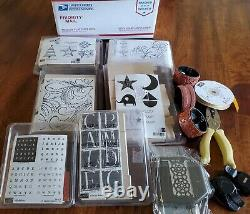 Stampin up stamp sets and misc