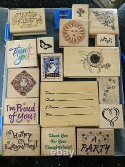 Stampin up stamp sets lot