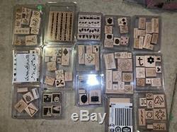 Stampin up stamp sets lot- 29 sets