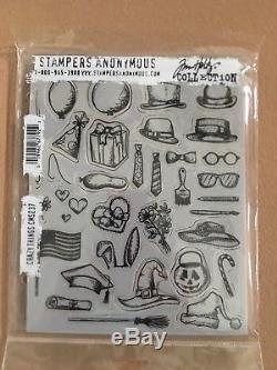 Tim Holtz Stamp Sets & Tim Holtz Sizzix Dies Bundle Crazy